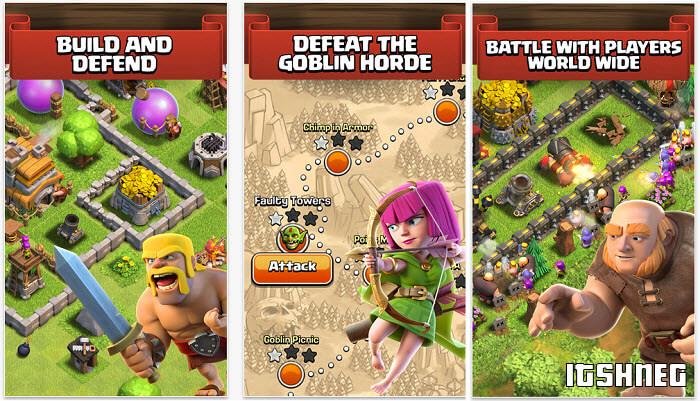 Описание игры Clash of Clans