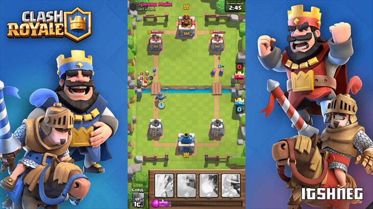 Геймплей игры Clash Royale