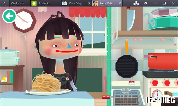Toca Kitchen 2 - играем на компьютере онлайн