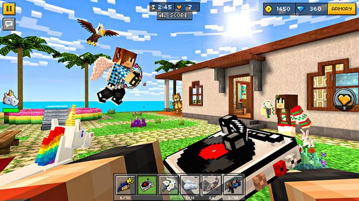 скачать игру на компьютер пиксель ган 3д - фото 4