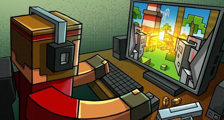 скачать игру на компьютер пиксель ган 3д - фото 8