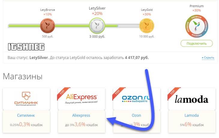 ЛетиШопс - экономим на покупках Aliexpress