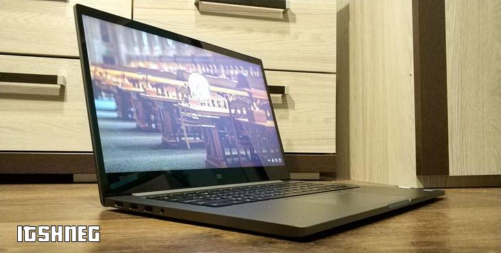 Mi Notebook Pro - вид сбоку