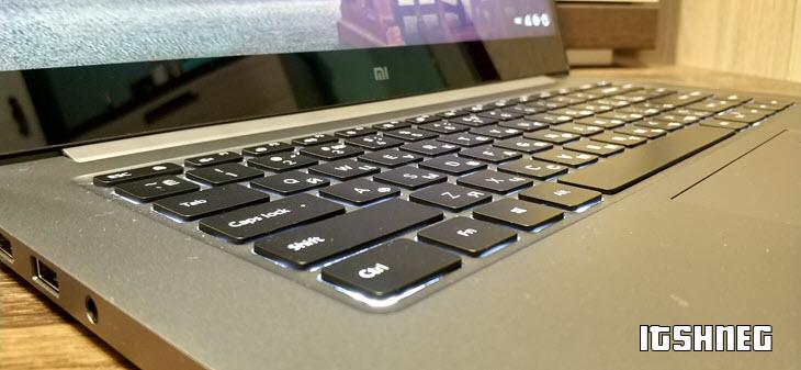 Подсветка Mi Notebook Pro