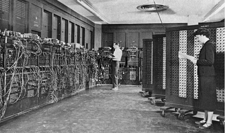 ENIAC - Самый первый компьютер в мире