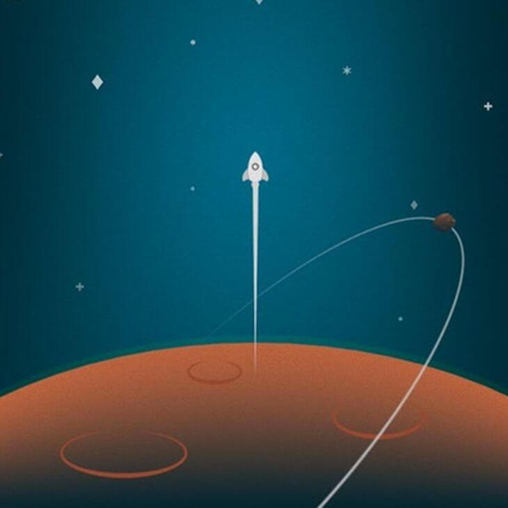Просто картинка с ракетой