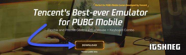 Официальный сайт эмулятора для PUBG