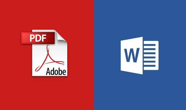 Как документ PDF перевести в Word