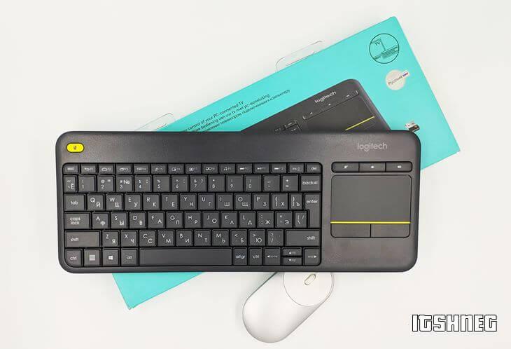 Внешний вид клавиатуры K400PLUS